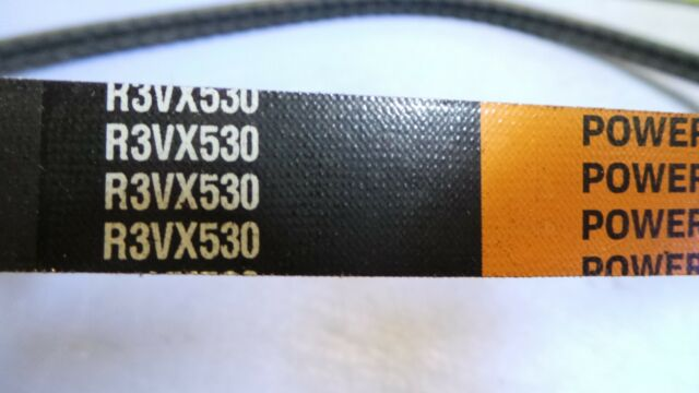 Rubber 3//8 Width 53 Length CARLISLE 3VX530 Power-Wedge Cog Checkmate V-Belt 0.31 Thick