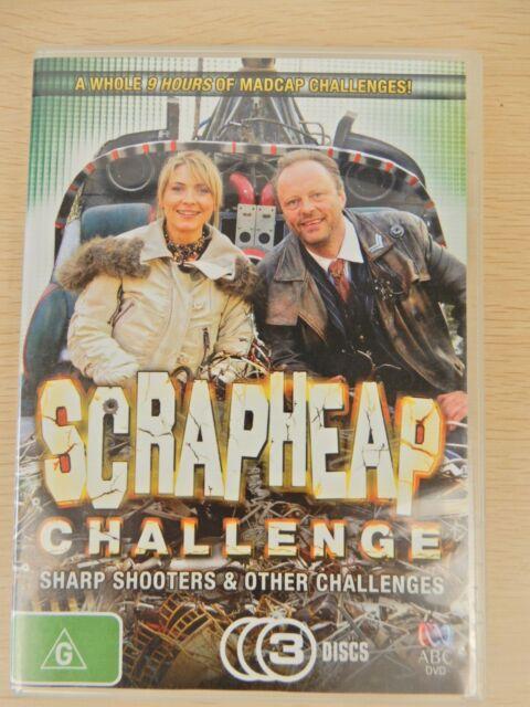 Scrapheap Challenge Sharp Shooters & Other Challenges DVD 2010
