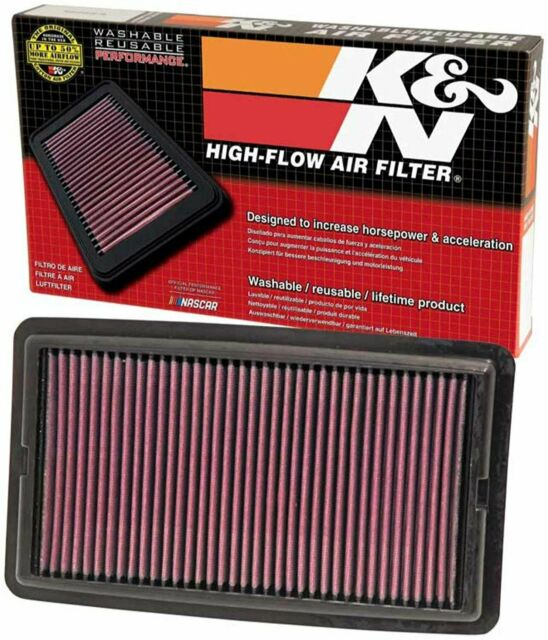 K&N Engine Air Filter, Washable And Reusable: 2014-2015