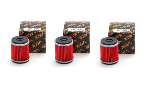 Volar Oil Filter for 2009-2018 Yamaha XT250 3 pieces