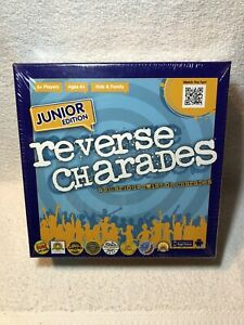 Reverse-Charades-Junior-Edition-Kids-and-Family-Game-100-Complete-NIB