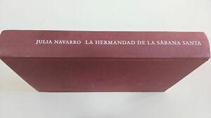 LA-HERMANDAD-DE-LA-SABANA-SANTA-JULIA-NAVARRO-LIBRO-CIRCULO-LECTORES-TAPA-DURA