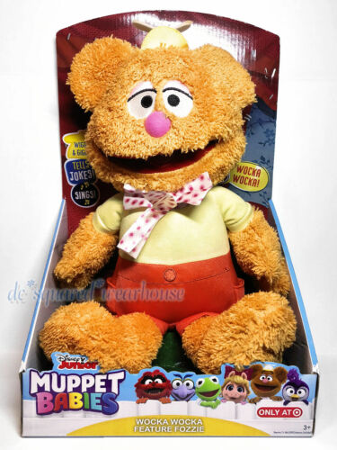 Disney Junior Muppet Babies Wocka Wocka Feature Fozzie Wiggles Giggles /& Sings