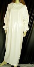 Zofenkleid Maid dress Cameriere vestono zofe devot NEU PVC white Diargh