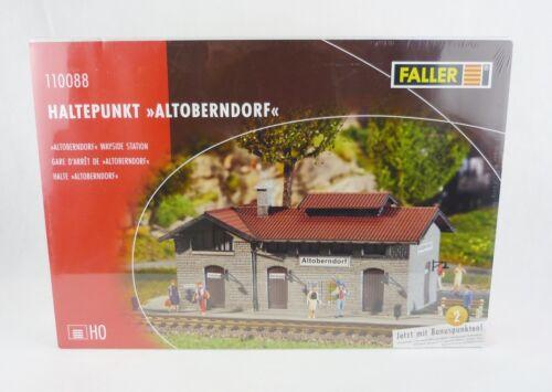 Faller 110088 Haltepunkt Altoberndorf Modellbausatz H0