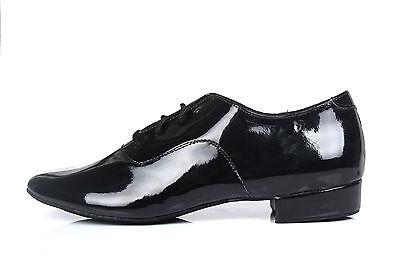 Adult men  ballroom latin salsa tango dance shoes black color 2.5cm and 4cm heel