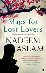 Maps-Per-Lost-Lovers-Da-Aslam-Nadeem-Nuovo-Libro-Gratuito-amp-IN-Brossura