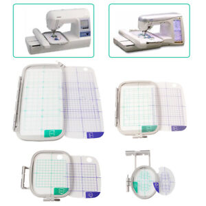 4-Piece-Embroidery-Hoop-Set-for-Brother-PE770-PE700-PE700LL-Machine-USA-STOCK