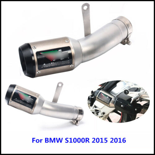 Motorcycle Exhaust System Pipe Slip on Exhaust Muffler For BMW S1000RR 2015 2016