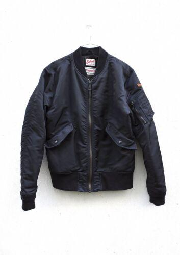 Schott x American College Bomber Jacket Black M