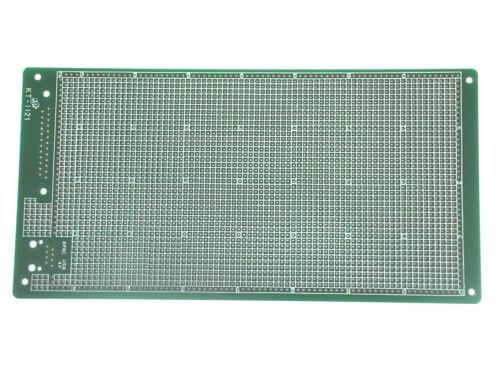 1pc Fr4 Pwb solo lado kt-1121 tamaño = 215x110x1.6 mm pitch = 2.54 mm Taiwan