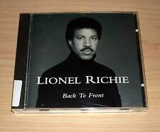 CD Album - Lionel Richie - Back to Front : Do It to Me + My Destiny ...
