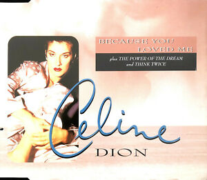 Celine-Dion-Maxi-CD-Because-You-Loved-Me-Theme-From-034-Up-Close-amp-Personal-034-Eu