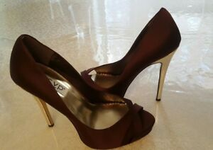 'abilyn' Gold Wine High And Heel Rsvp Shoes Details About N80wPXZknO