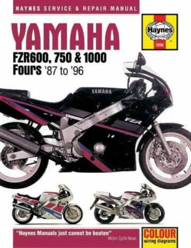 1 of 1 - Yamaha FZR600, 750 and 1000 Fours (87-96) Service and Repair Manual (Haynes Serv