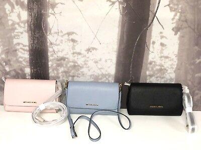 Michael Kors Donna Medio a Tracolla pelle Borsa Blu Oro Rosa Mk   eBay