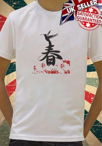 Chinois Mandarin écrit Bird Garçons Filles cadeau d/'anniversaire top t shirt 166