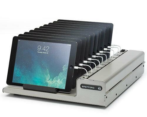 Bretford - HM962BG1 - AC Charge, Platinum Finish, iPad and iPad Mini Charger