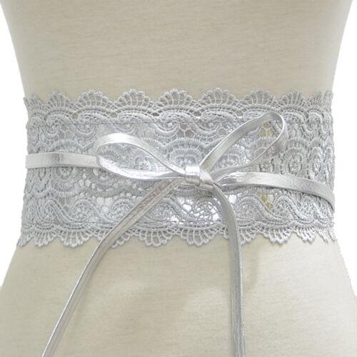 Wide Corset Lace Belt Tie-up Waistband Women Wedding Dress Waist Band Belts Well