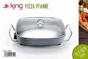 Elektrische-Partypfanne-Pizzapfanne-Paellapfanne-Multipfanne-Gusseisen