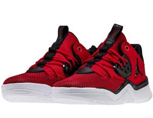 Details about Nike Air Jordan Sneakers BG kids Dna Basketball Running Red Black AO1540 601