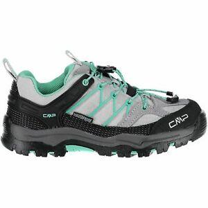 à Condition De Cmp Trekking Chaussures Outdoorschuh Kids Rigel Low Trekking Shoes Wp Gris Unicolore-afficher Le Titre D'origine Non Repassant