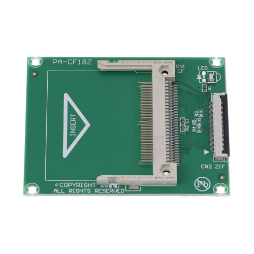 1Pc CF compact flash card to 1.8 Inch ZIF//CE adapter for ipod 5G 6G  ES