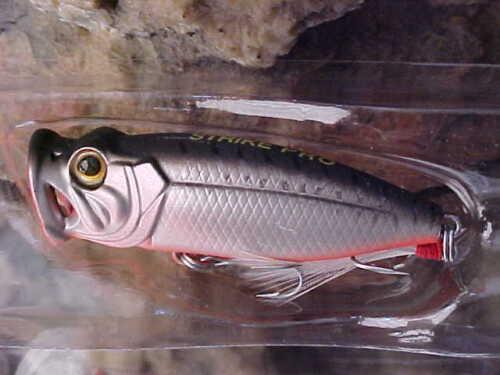 "Strike Pro 2/"" Ultra Lite TOPWATER SH-002B#AO6E for Smallmouth Bass//Panfish"