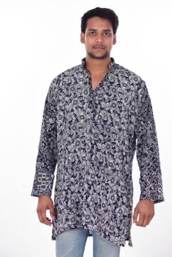 Indian T-shirt Top Tunic Kurta Plus Size 100/% Cotton Men/'s Shirt 4XL 5XL 6XL 7XL