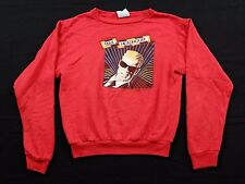 Vtg 1987 Max Headroom Sweatshirt Youth XL new coke catch the wave