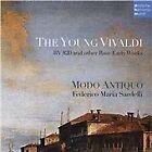 Antonio Vivaldi - Young Vivaldi: RV 820 and Other Rare Early Works (2015)