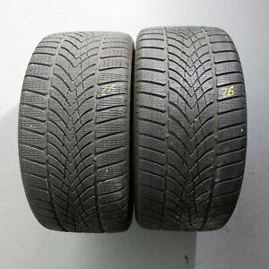 2x-Dunlop-Sp-Sports-D-039-hiver-4d-Noise-Shield-r01-285-30-r21-100-W-Dot-2116-5-mm
