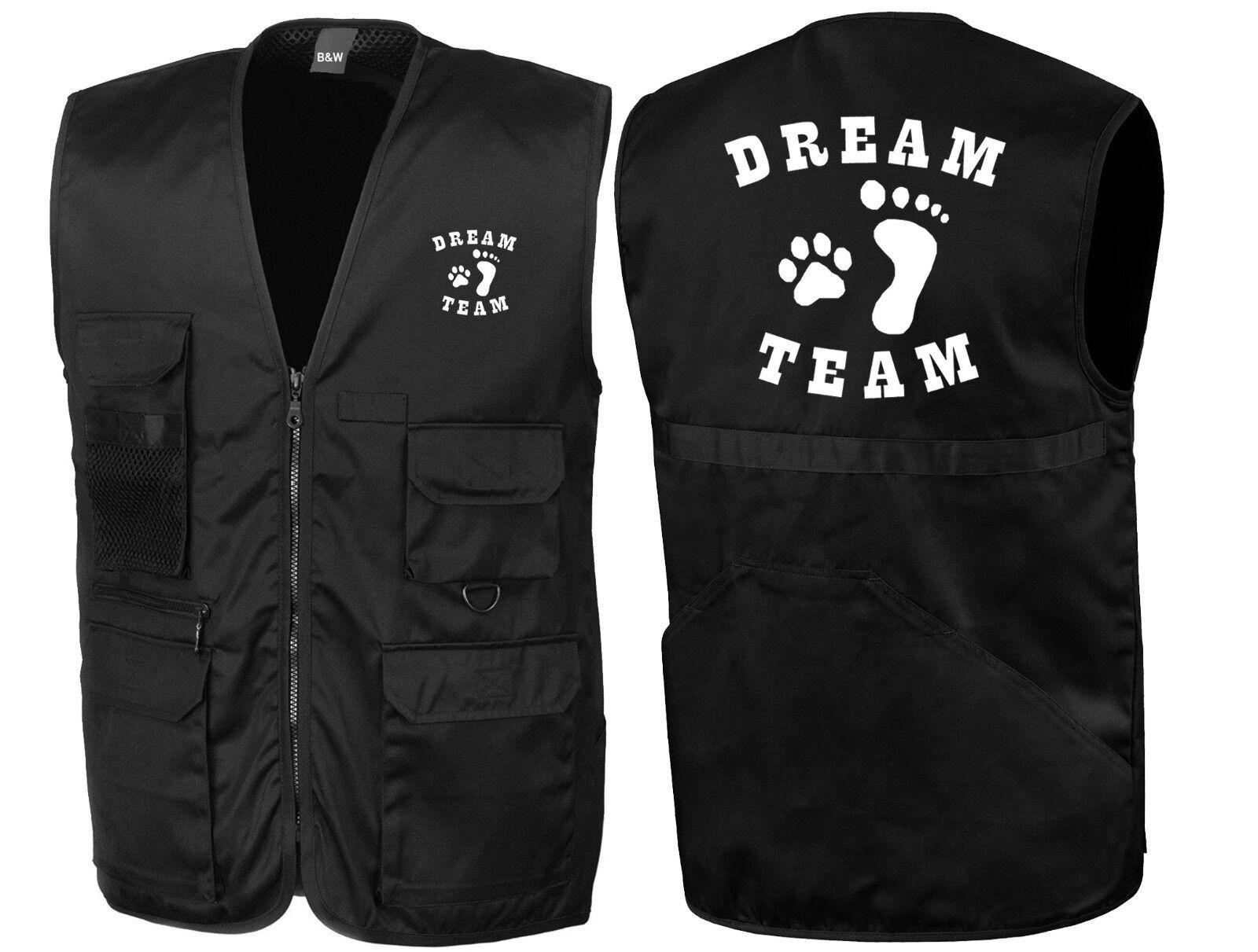 Dream Team   Hundesport-Weste   Trainingsweste   Hundeführer in       394-32-
