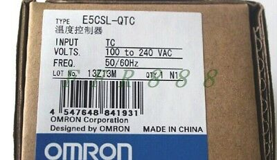 1PCS Omron Temperature Controller E5CSL-QTC 100-240VAC New In Box