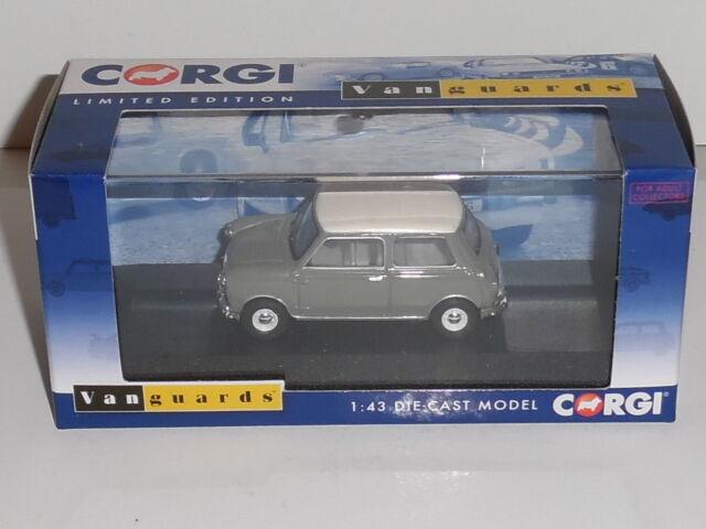 Old English White OXFORD DIECAST MIN021 1:43 O SCALE Mini Car Tweed Grey