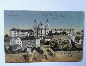 Ansichtskarte-Weingarten-Wuerttemberg-Stempel-Reservelazarett-gel-25-9-1917