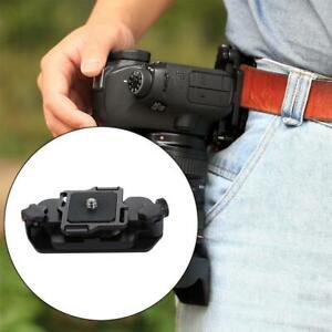 Alloy-Quick-Release-Camera-Waist-Belt-Strap-Mount-Clip-DSLR-Canon-Nikon-Camera-S