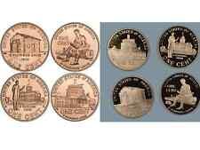 Complete Set Lincoln Bicentennial 2009  Cent Penny P & D & PROOF 12 UNC. Coins
