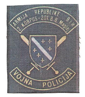 sleeve patch 60 mm BRIGADE OF PECIGRAD WESTERN BOSNIA ARMY