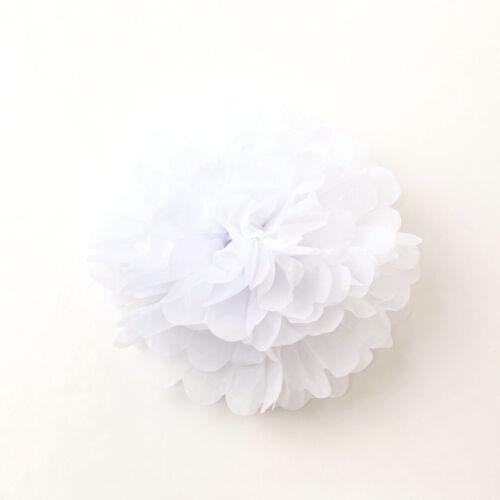 25cm//30cm Tissue Paper Pom Poms Wedding Party Decoration Pompoms