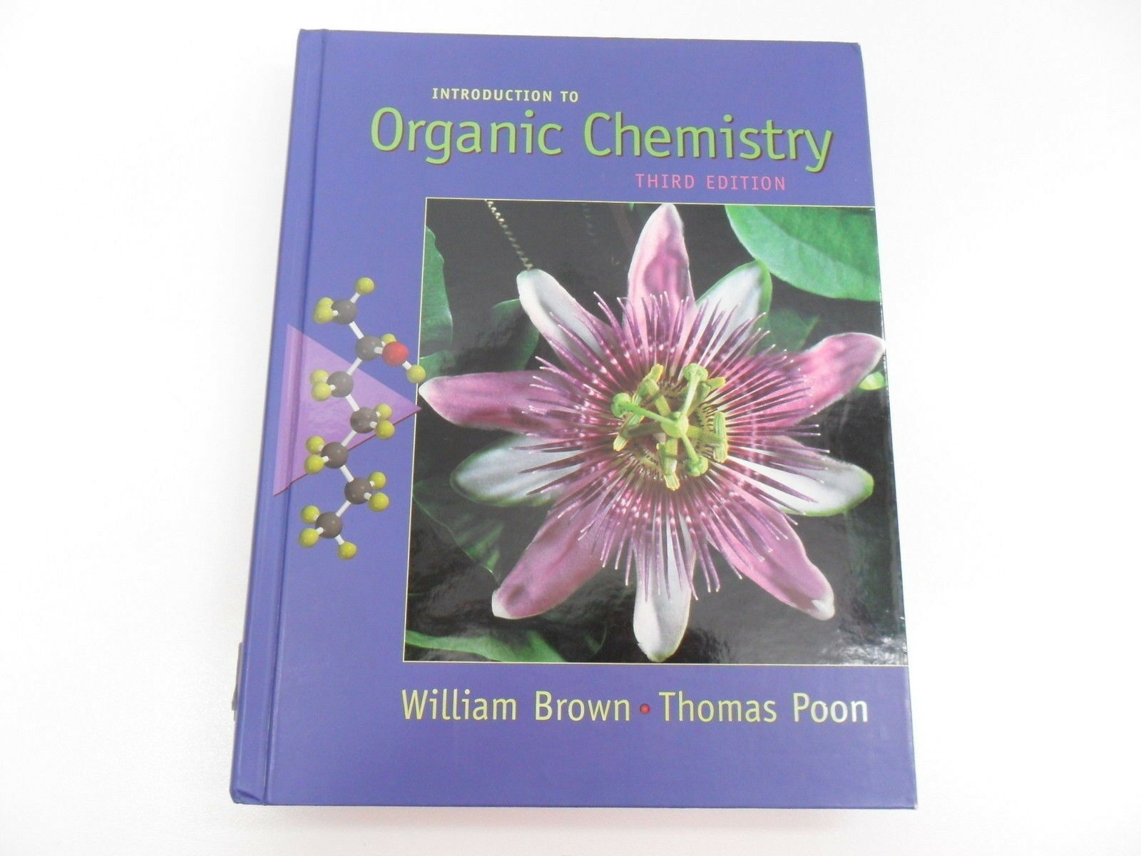 Introduction to Organic Chemistry by William Henry Brown, Thomas Poon  (Hardback, 2004) | eBay