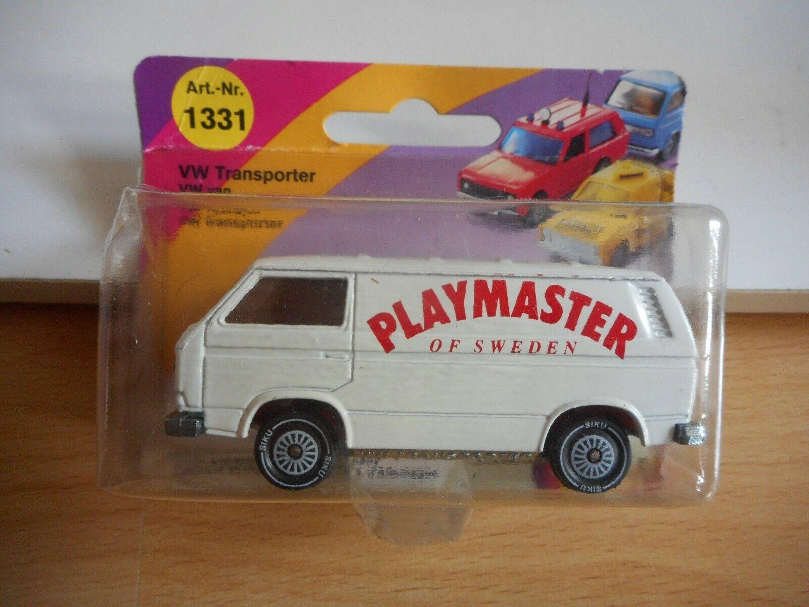 Siku Promo   Werbemodell VW Volkswagen transporter T3  Playmaster of Sweden