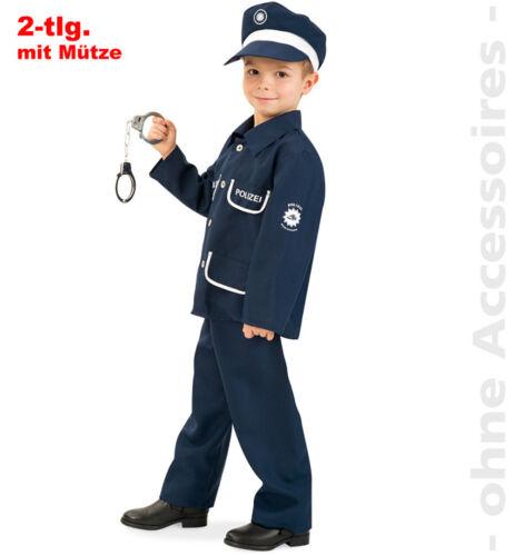 Polizist Kinder Kostüm Polizeikostüm Police Polizei Gendarm Kinderkostüm