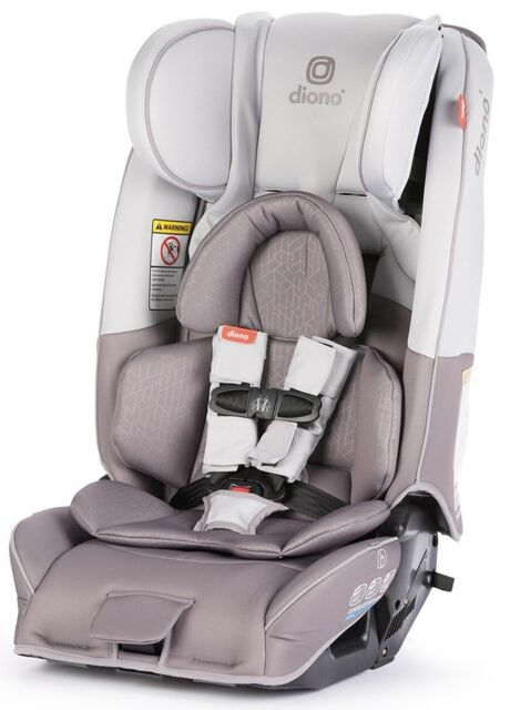 Diono Radian 3 RXT All In One Convertible Booster Child Car Seat Grey