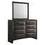 thumbnail 5 - NEW Gray Storage Queen King Bedroom Set Contemporary Modern Furniture Bed/D/M/N
