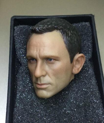 1//6 Daniel Craig HEAD SCULPT FOR James Bond 007 Ciel Spectre navire de USA