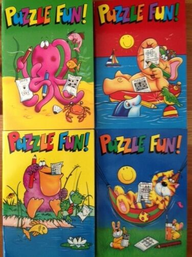 A6 Puzzle Fun Colouring Dot to Dot Book 64 Pages Party Bag Xmas Stocking Filler