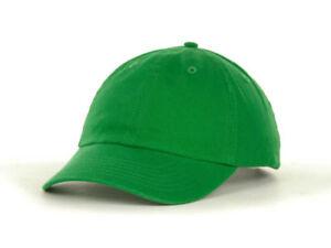 100% COTTON GREEN Color Plain Baseball Cap Blank Curved Visor Hat ... 785b0c8c1816