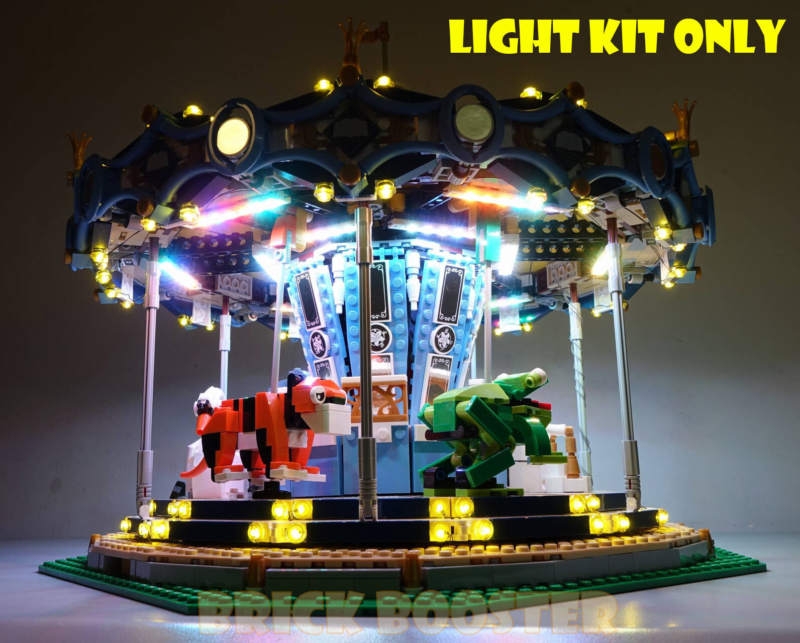 Battery Powered LED Light Kit for Lego 10257 10257 10257 Carousel f960dc