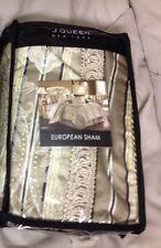 J QUEEN New York One Medici EUROPEAN Pillow Sham 25 x 25 New